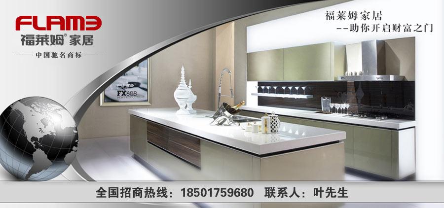 福莱姆橱柜,专注厨房,激扬天下,品牌先行,招商热线:0574-62386666