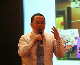 王庆总经理在山东橱柜发展(广州)研讨会上