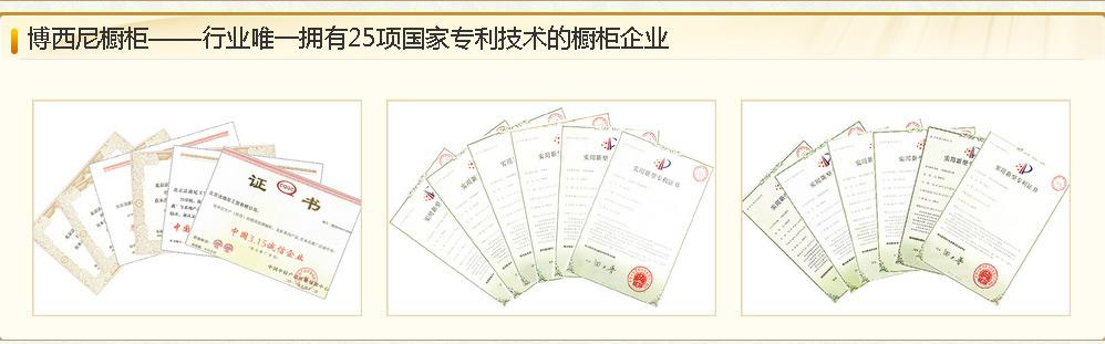博西尼橱柜专利