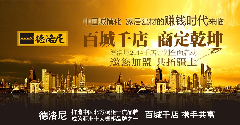 德洛尼橱柜加盟,打造中国北方橱柜一流品牌