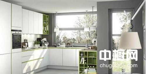 厨房水泥橱柜效果图