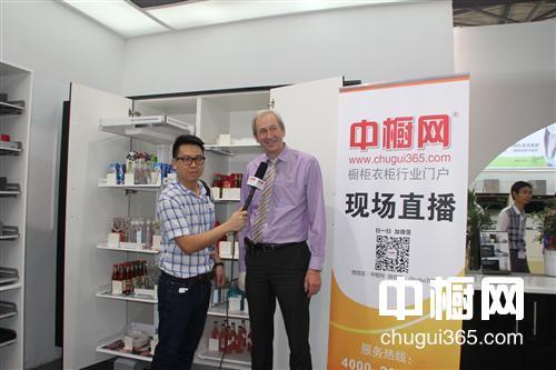 [整体橱柜  ]上海厨卫展中橱网采访瑞士铂格亚太区销售总监诺睿克先生
